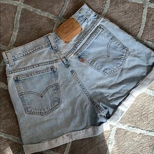 Vintage High Wasted Levi Shorts